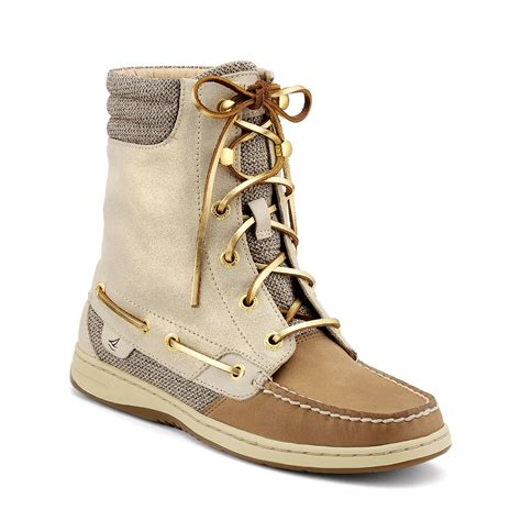 sperry boots sperry top sider s boots hikerfish sparkle suede