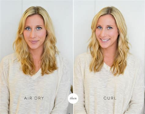 Air Dried Hair Is Beachy by 3 Ways To Use A Curling Iron
