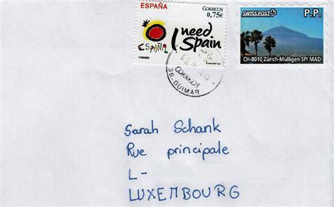 philaseiten de brief mit doppelfrankatur schweiz und spanien