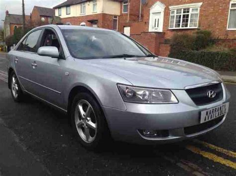 06 Hyundai Sonata by Hyundai 2006 06 Sonata 2 0crtd Cdx 4dr Saloon Car For Sale
