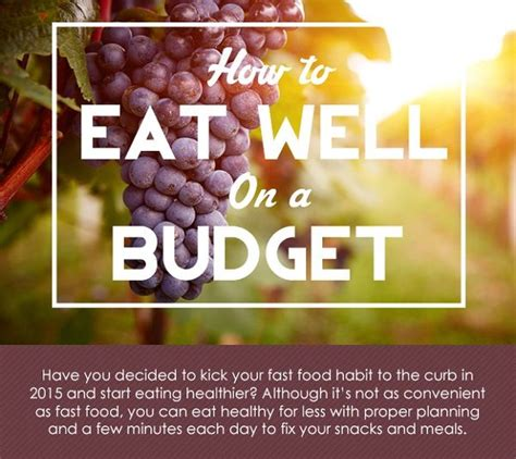 Cheap And Easy Tips For A Healthy And Happy by Budget Health Food Tips Cheap Healthy