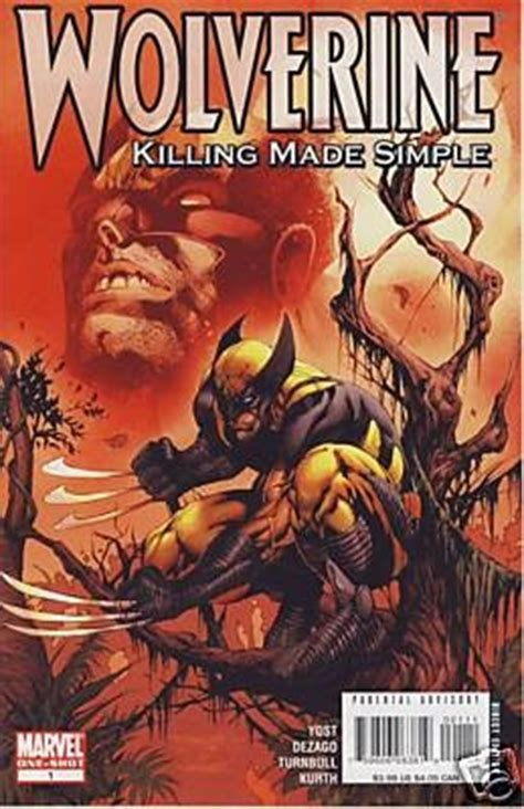 the kill circle cordell logan mystery books wolverine killing made simple one 2008 marvel comic book