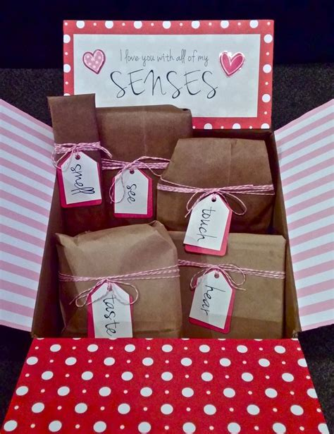 5 Valentines Day Gifts by I You With All Of My Senses 5 Senses S