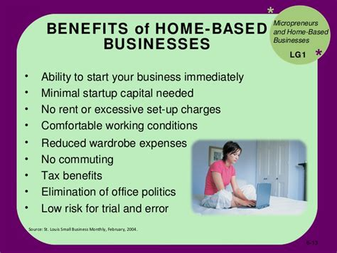 Start Small Home Based Business Bus110 Chap 6 Entrepreneurship And Starting A Small Business