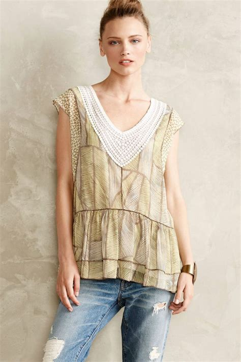 Kedung Balm Top Blouse Blue 54 best images about anthropologie tops blouses on