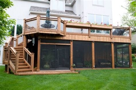wasted space to avoid in your dream home stoney built screened porch under deck this is perfect and great use