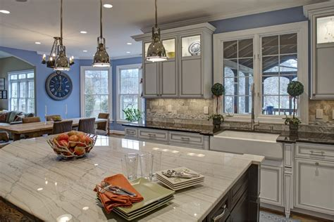 Top Of The Line Kitchen Cabinets by Builder Grade Kitchen Converted Into Top Of The Line