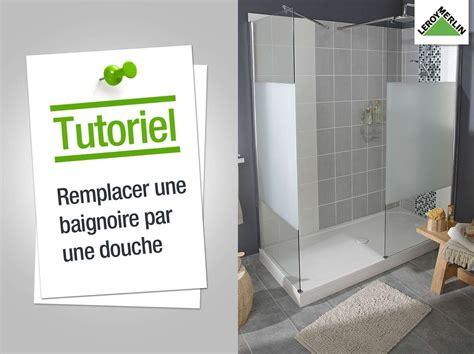 Remplacer Baignoire by Comment Remplacer Ma Baignoire Par Une Leroy