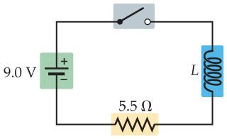 how much energy has been stored in the capacitor assuming the inductor in this circuit has the valu chegg