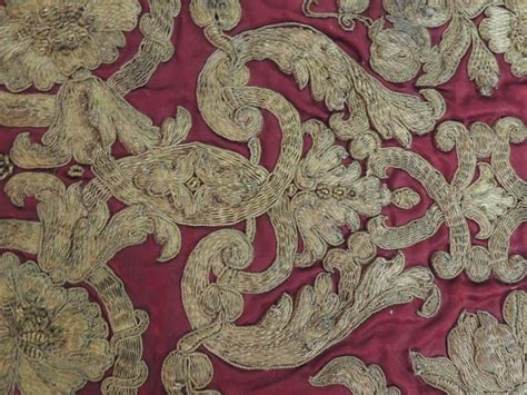 ottoman empire 18th century 18th century ottoman empire gold embroidered on silk