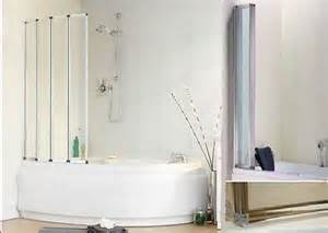 Corner Baths With Shower Screen Universal Corner Bath Screen For Any Offset Corner Or