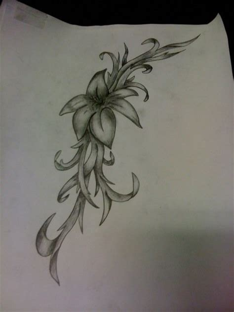 climbing rose tattoo climbing flower