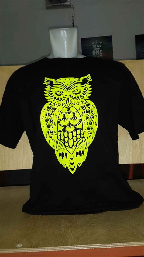 Kaos T Shirt Owl Dreambird kaos custom tukangprint
