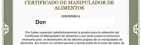 carnet manipulador de alimentos online 191 c 243 mo conseguir el carnet de manipulador carnet de