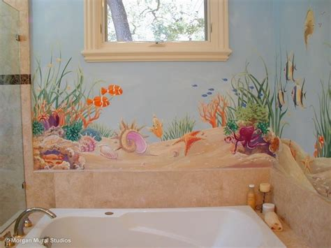 best 20 bathroom mural ideas on murals wall