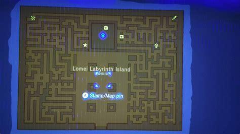 legend of zelda map maze zelda breath of the wild labyrinths guide how to