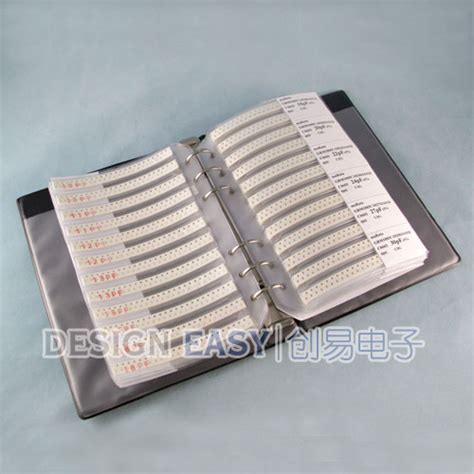 capacitor smd kit 0603 smd capacitor kit 90valuesx50pcs 0 5pf 2 2 181 f smt pack box book rohs murata ebay