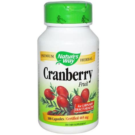 Do Cranberry Pills Help Detox by Nature S Way Cranberry Fruit 100 Vcaps Evitamins