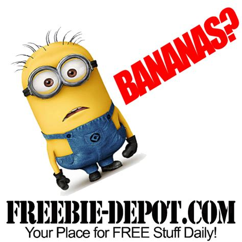 Minions Love Bananas Instant Win - free prizes from chiquita and minions minions love bananas freebie depot