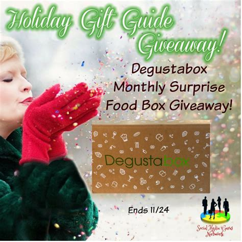 Food Giveaway Today - degustabox monthly surprise food box giveaway creative lifestyle
