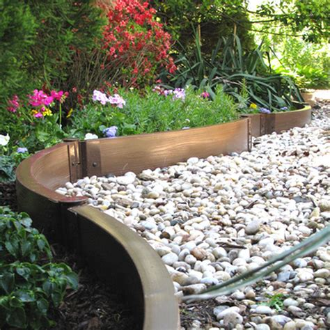 Flower Garden Edging Ideas Best Flower Bed Edging Ideas For Your Home Garden Creative Projects Concrete Garden Trends