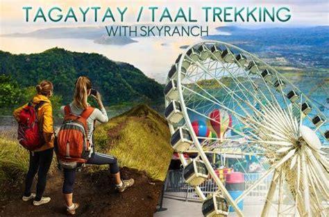 taal volcano trek adventure promo  skyranch