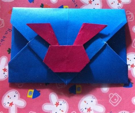 Origami Bunny Envelope - 17 best images about origami boxes and containers on