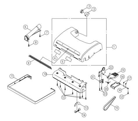 riccar vacuum parts diagram riccar 8905 parts vacuum repair diagrams