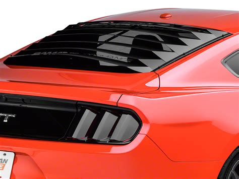 mustang rear window louver speedform mustang aluminum rear window louvers 389269 15