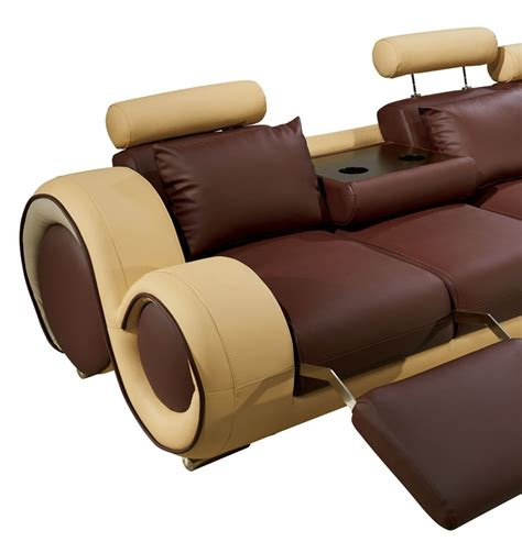 modern leather sectional sofa with recliners modern leather sectional sofa with recliners
