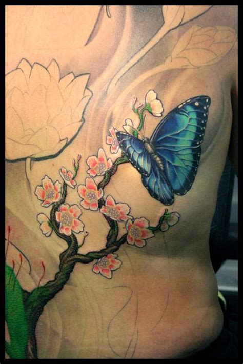 tattoo nightmares butterfly and flowers off the map tattoo tattoos lux a butterfly and