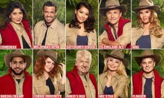 celebrity jungle line up 2017 australia i m a celebrity 2017 cast slip into jungle threads daily