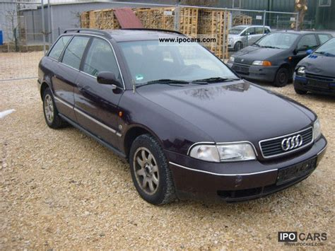 Audi A4 Avant 1998 by 1998 Audi A4 Avant 1 8 T Car Photo And Specs