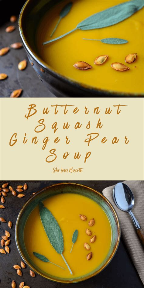 butternut squash and pear soup recipe ina garten roasted butternut squash pear soup