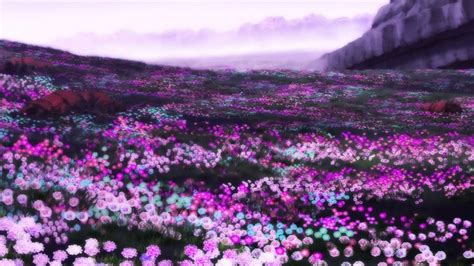 Landscape Flowers Gousicteco Light Purple Flowers Images