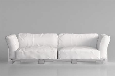 kartell couch kartell pop duo sofa 3d model max obj mtl cgtrader com
