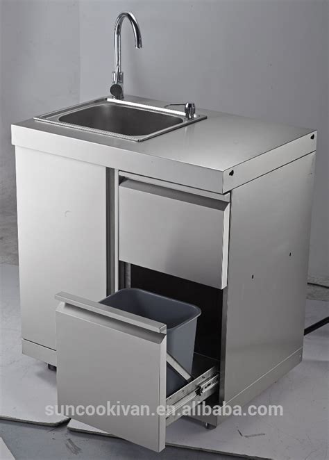 stainless steel sink cabinet outdoor stainless steel outdoor sink cabinet with stainless steel