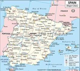 Map Of Southern Spain by Southern Coast Of Spain Map Pictures To Pin On Pinterest