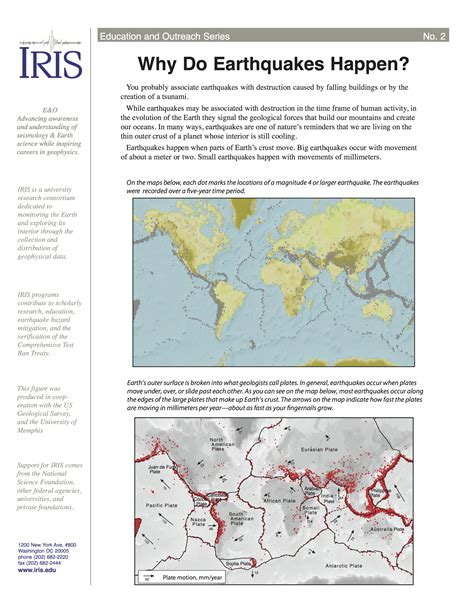 earthquake occur why do earthquakes happen incorporated research