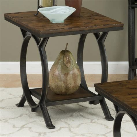 rustic pine end table s press rustic pine end table 617 3 jofran