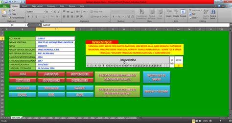 format absensi sekolah aplikasi absensi guru di sekolah format excel informasi