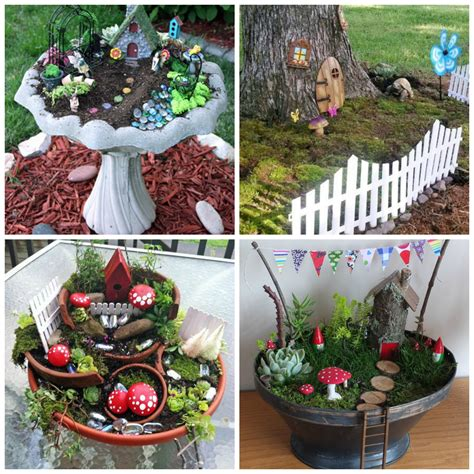 Diy Fairy Garden Ideas Www Imgkid Com The Image Kid Miniature Gardens Ideas