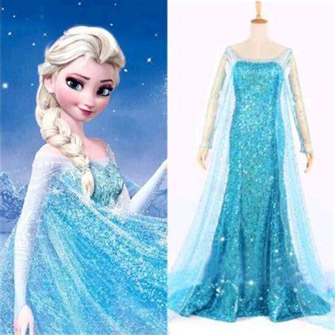 Promo Elsa Set 3in1 sets frozen elsa dress snow costume frozen dress size