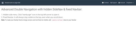 fixed layout in bootstrap bootstrap fixed navbar scroll phpsourcecode net