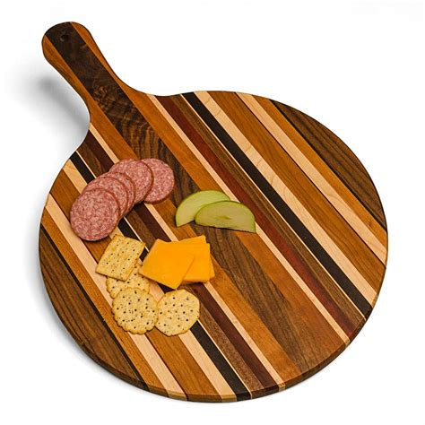 Solid Hardwood Pizza Board / Serving Platter   Oshkosh Designs