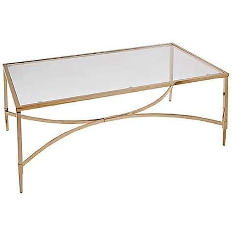 chelsea metal glass coffee table by kaleidoscope