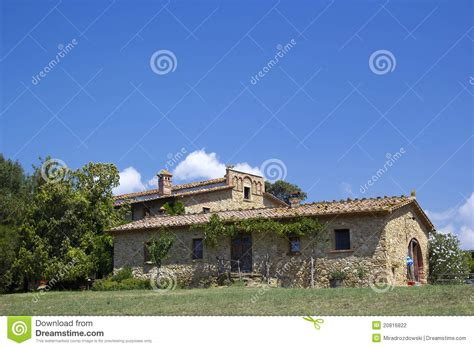 typical home typical tuscan house stock photo image of landscape 20816822
