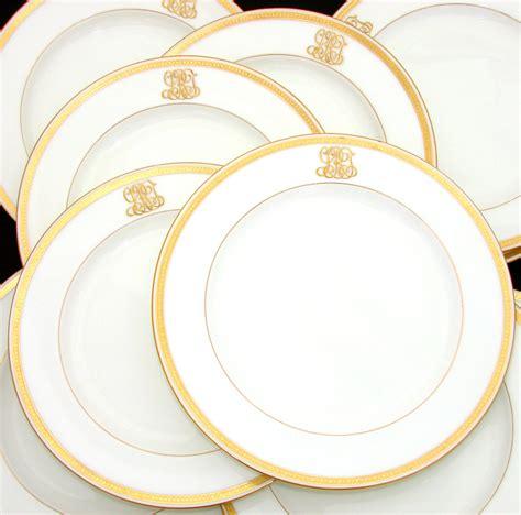gold dining set plates antique 1911 minton 10pc dinner plate set ornate gold