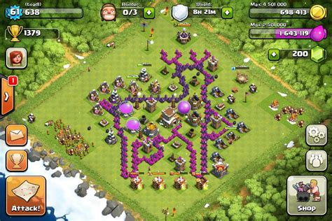 coc christmas layout image merry christmas jpg clash of clans wiki
