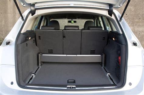 cargo space audi q5 audi q5 ride handling autocar